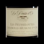 Chambolle Domaine de la Pousse 2016 etiquette