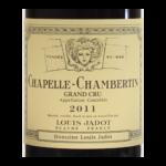 Chapelle Chambertin Domaine Louis Jadot 2011 etiquette