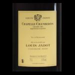 Chapelle Chambertin Domaine Louis Jadot-2011 etiquette dos