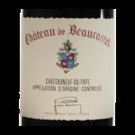 Chateau Beaucastel 2016 etiquette