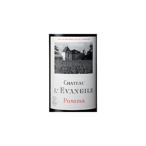 Chateau Evangile pomerol etiquette