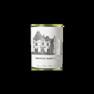 Chateau Haut-Brion Blanc millesime etiquette