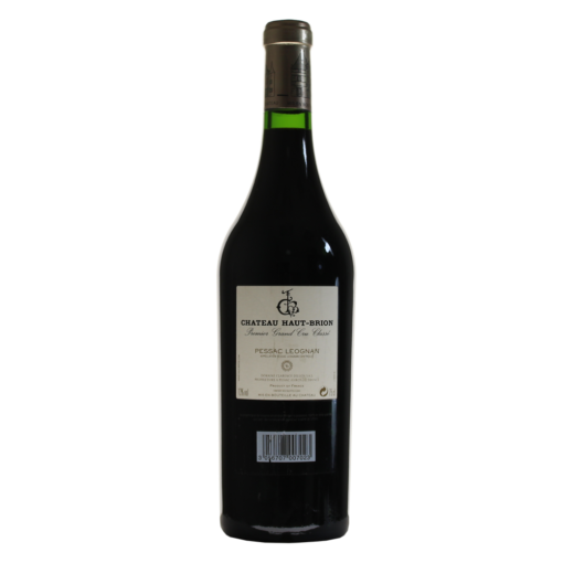 Chateau Haut-Brion Millesime dos