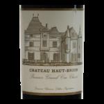Chateau Haut-Brion Millesime etiquette