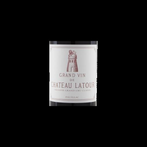 Grand vin de Chateau Latour etiquette