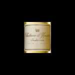 Chateau Yquem sauternes etiquette