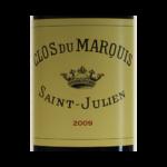 Clos du Marquis Saint-Julien 2009 etiquette