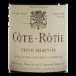 Cote Rotie Domaine Rostaing 2009 etiquette