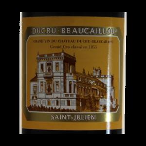 Ducru-Beaucaillou Saint-Julien Millesime etiquette