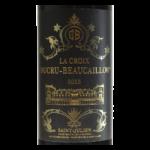 La Croix Ducru Beaucaillou Saint-Julien 2015 etiquette