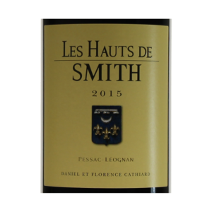 Les Hauts de Smith 2015 etiquette