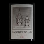 Pagodes de COS Saint-Estephe 2016 etiquette