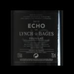 Pauillac Echo 2012 etiquette dos