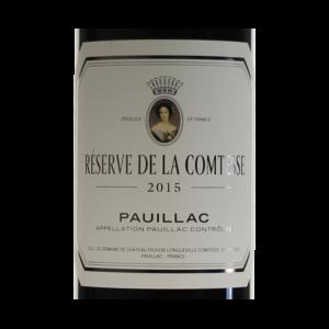 Pauillac Reserve de la Comtesse 2015 etiquette
