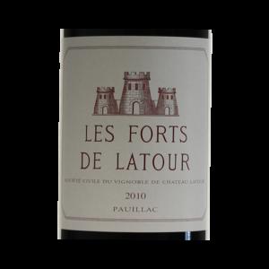 Pauillac les forts de Latour 2010 etiquette
