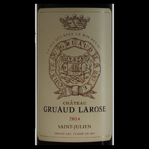 Saint-Julien Chateau Gruaud Larose 2014 etiquette