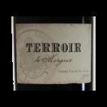 Terroir de Margaux 2014 etiquette