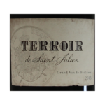 Terroir de Saint-Julien etiquette