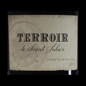 Terroir de Saint-Julien etiquette