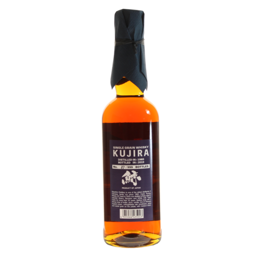 Whisky Kujira 30 ans bouteille dos
