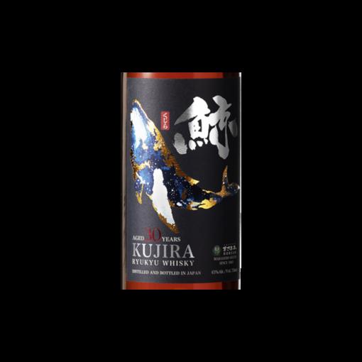 Whisky Kujira  ans etiquette