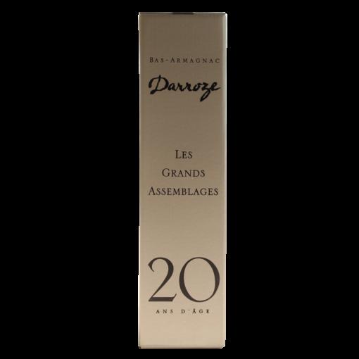 Bas Armagnac Darroze ans bouteille boite
