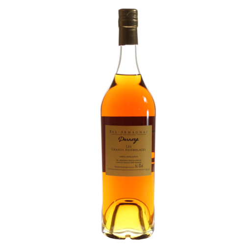 Bas Armagnac Darroze ans bouteille dos
