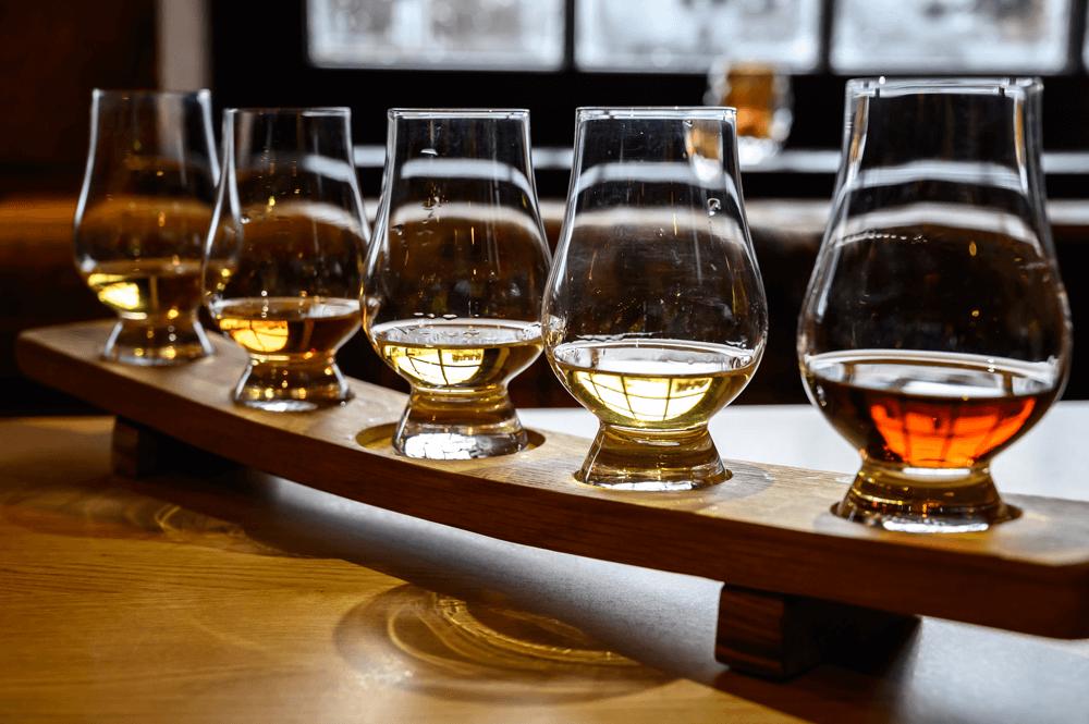 Les différentes familles de Whisky