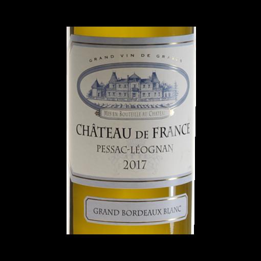 Chateau-De-France-Pessac-Leognan-Blanc-2017-etiquette